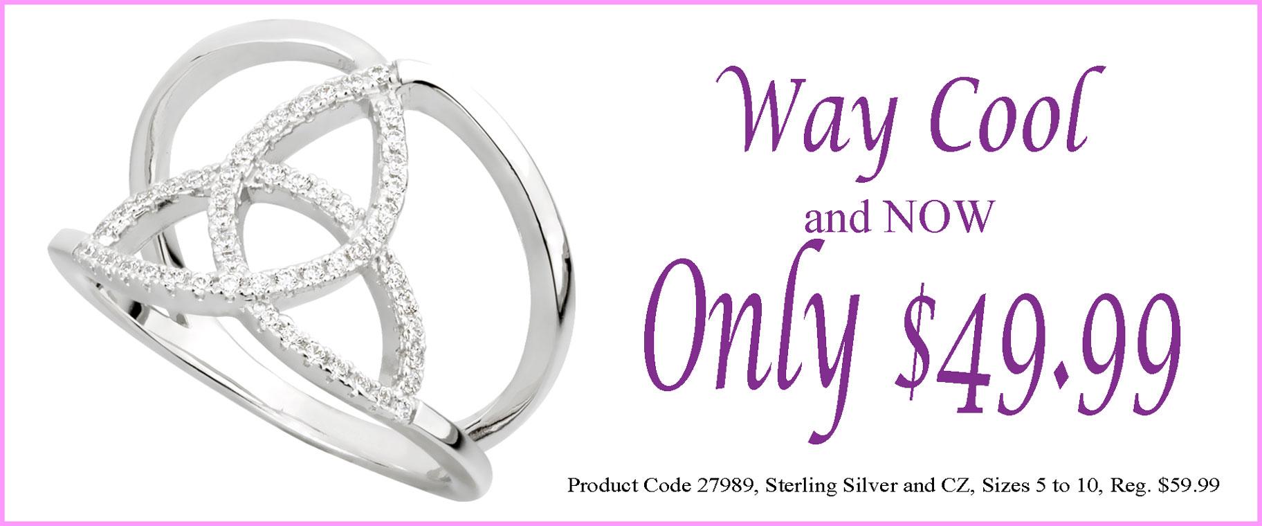 Trinity Ring Sale